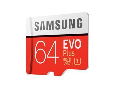 SD Adaptörlü EVO Plus microSD Hafıza Kartı 64GB