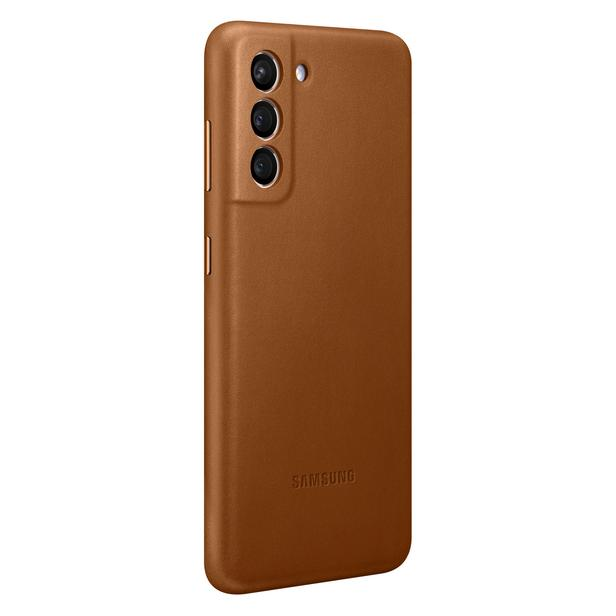 Galaxy S21 5G Leather Cover