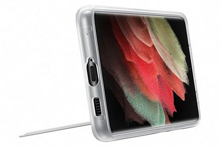 Galaxy S21 Ultra 5G Clear Standing Cover