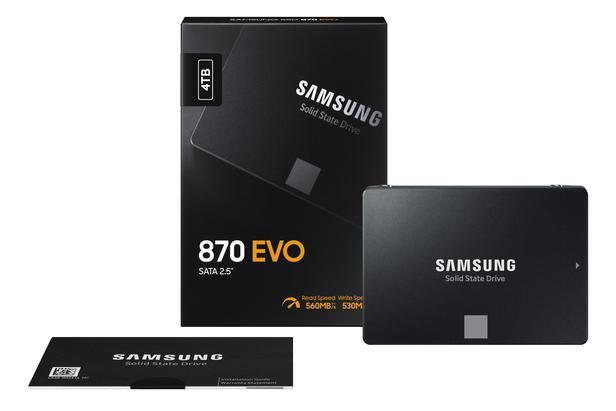 "870 EVO SATA III 2.5"" SSD 4TB"