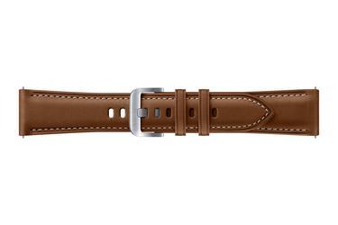Galaxy Watch3 (41mm) Deri Kayış - Kahverengi
