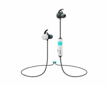 Beyaz AKG N200 Spor tipi kablosuz kulak içi kulaklık