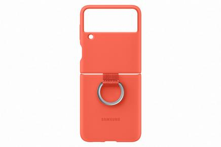 Galaxy Z Flip3 5G Silicone Cover with Ring