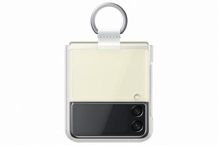 Galaxy Z Flip3 5G Clear Cover with Ring