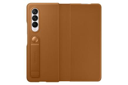 Galaxy Z Fold3 5G Leather Flip Cover