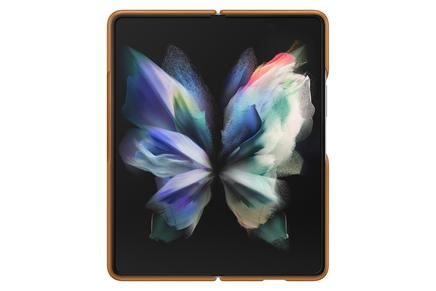 Galaxy Z Fold3 5G Leather Cover