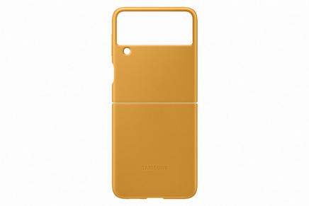 Galaxy Z Flip3 5G Leather Cover