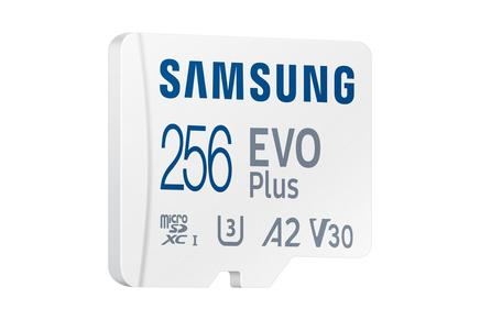EVO Plus microSD Hafıza Kartı 256 GB