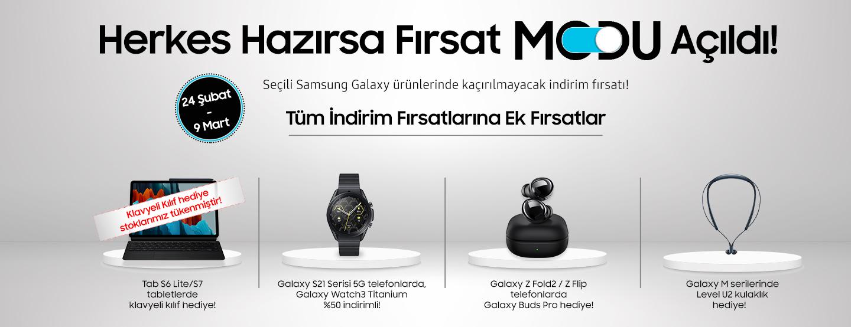 Samsung Fırsat Modu Kampanyası